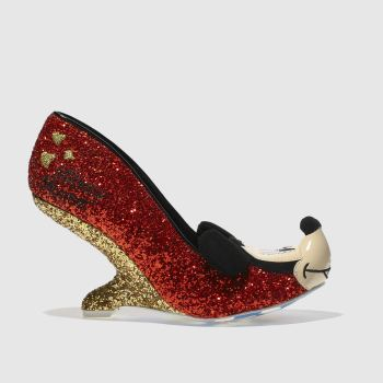 Irregular Choice Red X Disney Oh Boy! Womens High Heels