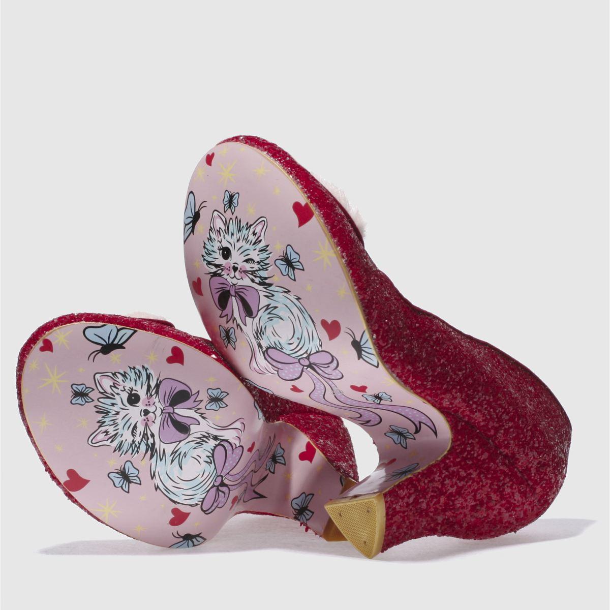 Damen Rot irregular choice High Love Me Not Glitter High choice Heels | schuh Gute Qualität beliebte Schuhe c26c42