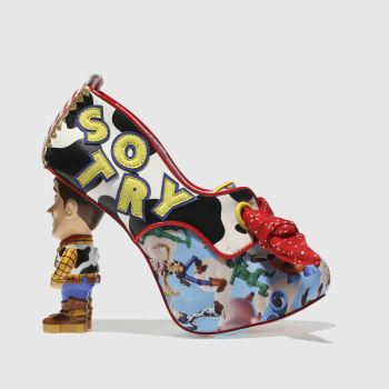 Irregular Choice Blue & Red YOUVE GOT A FRIEND IN ME High Heels