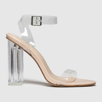Public Desire Natural Alia Womens High Heels