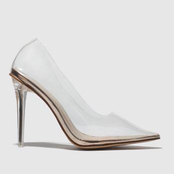 Public Desire Bronze Drank Womens High Heels from Schuh