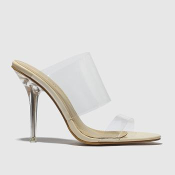 Public Desire Natural Boujee High Heels