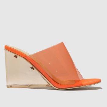 Public Desire Orange Maliboo Womens High Heels