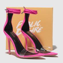 08951432bd89 womens pink public desire jorja high heels