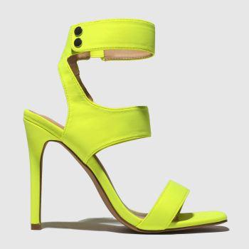 Public Desire Yellow Pulse Womens High Heels