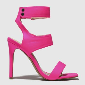 Public Desire Pink Pulse Womens High Heels