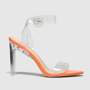 Public Desire Orange Slice Womens High Heels