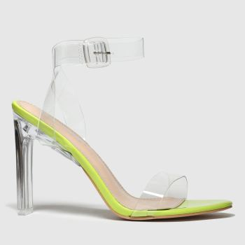 Public Desire Lime Slice Womens High Heels