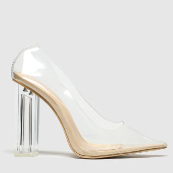Public Desire Natural Alluring Womens High Heels
