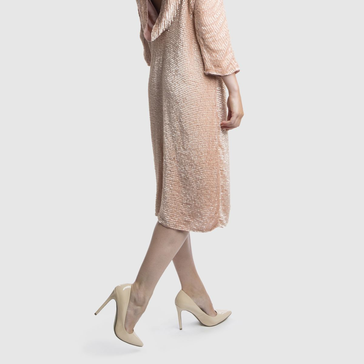 Damen Naturfarben missguided Point Toe High Heels | schuh Gute Qualität beliebte Schuhe