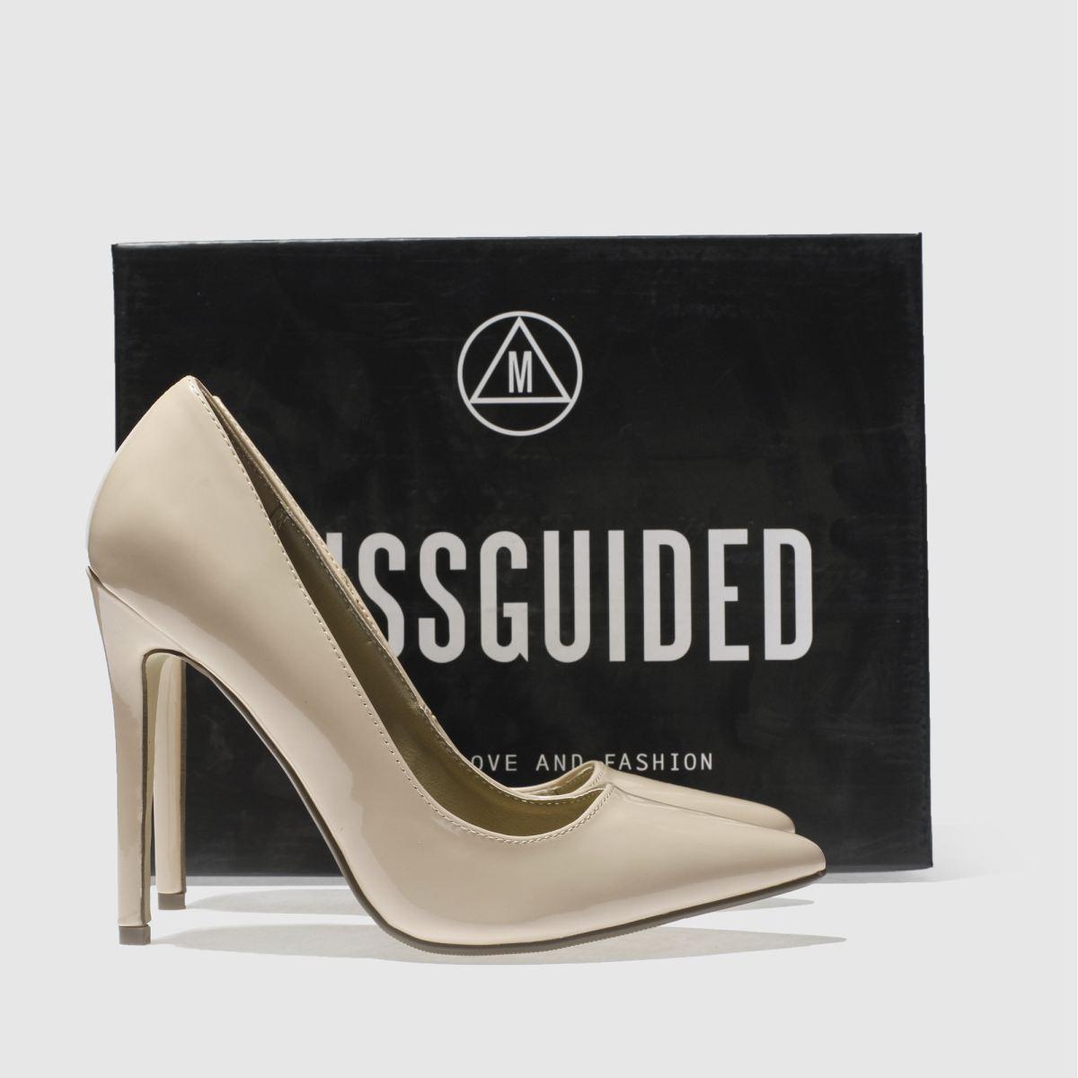 Damen Naturfarben missguided Point Toe Gute High Heels | schuh Gute Toe Qualität beliebte Schuhe f503f7