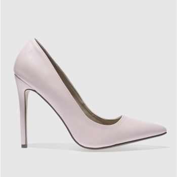 Missguided Pale Pink Point Toe Court Womens High Heels