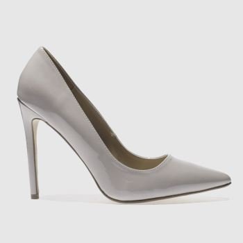 Missguided Grey Point Toe Womens High Heels