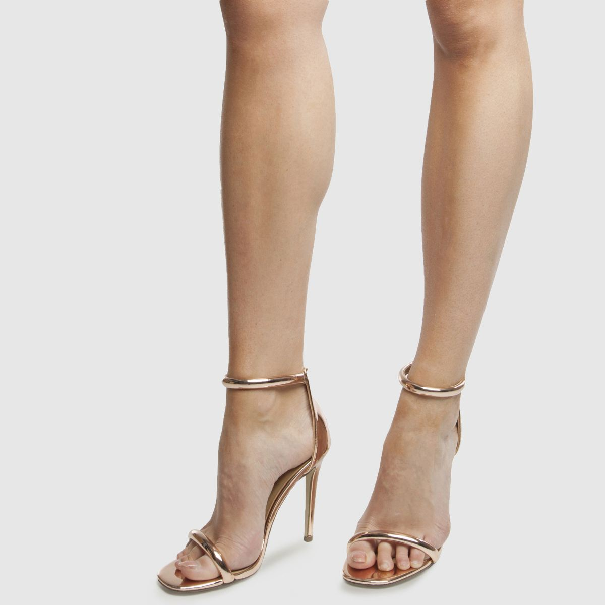 Damen Rosegold missguided Strap Barely There High Heels beliebte | schuh Gute Qualität beliebte Heels Schuhe 3b472b
