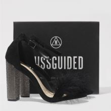 Missguided glitter & fur block 1