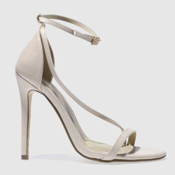 a299f664135 womens natural missguided asymmetric strappy high heels