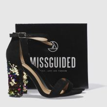 Missguided sequin heel sandal 1