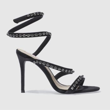 Missguided Black Carli Bybel Heel Womens High Heels