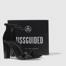 Missguided block heel ankle strap 1