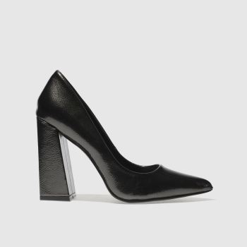 Missguided Grey Flared Point Heel Womens High Heels