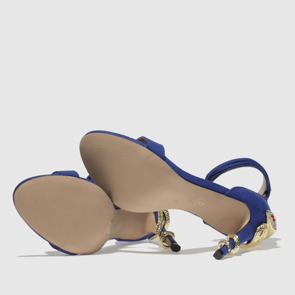 Damen Blau-gold missguided Barely There Snake Gute High Heels | schuh Gute Snake Qualität beliebte Schuhe ed238c