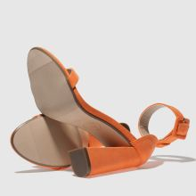 Missguided 2 strap block heel 1