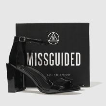 Missguided feature block heel 1