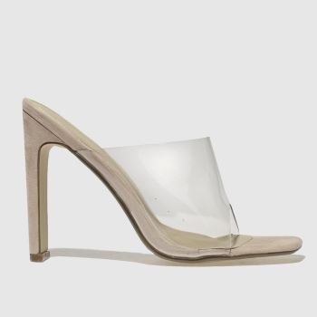 Missguided Natural Illusion Heel Womens High Heels