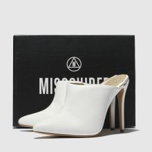 Missguided pointed toe heeled mule 1