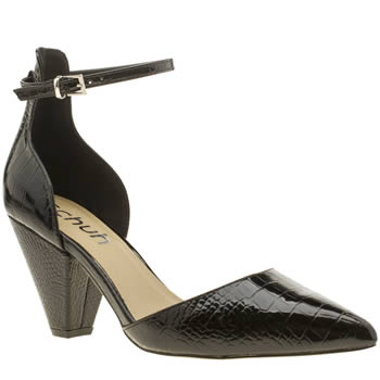 Schuh Black Shock Womens Low Heels