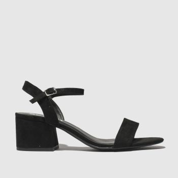 Schuh Black Harmony Womens Low Heels