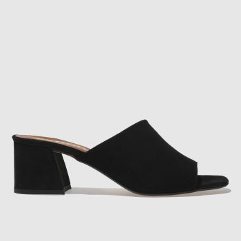Schuh Black Talisman Womens Low Heels