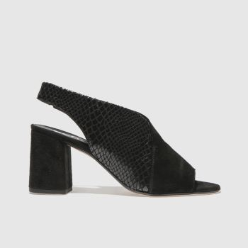 Schuh Black Allure Womens Low Heels