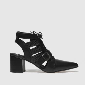 Schuh Black Driven Womens Low Heels