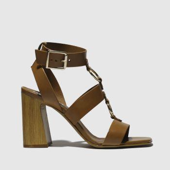 schuh tan cassie low heels