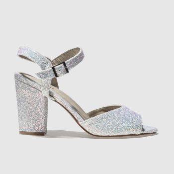Schuh White KISS IT Low Heels
