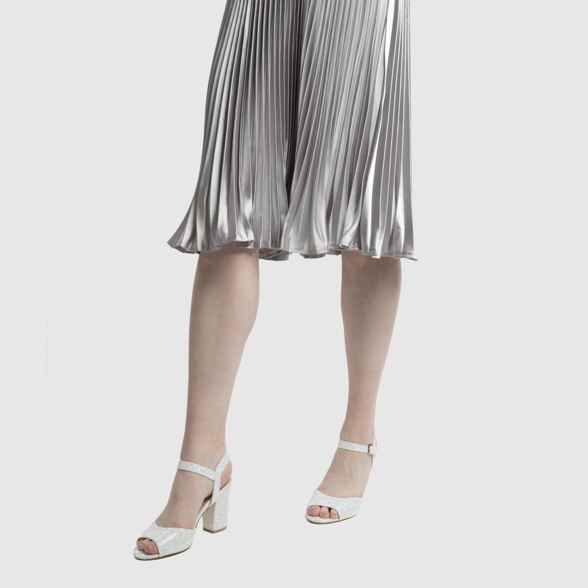 Damen Weiß schuh Kiss It Low Heels | schuh Gute Qualität beliebte Schuhe