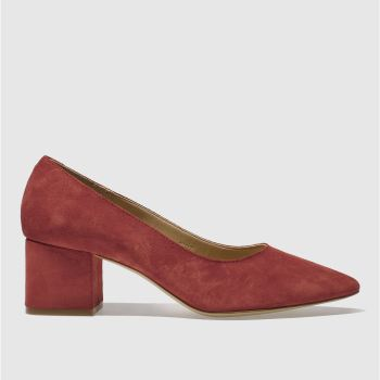 Schuh Red Shimmy Womens Low Heels