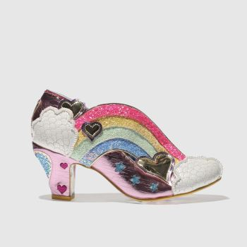 Irregular Choice Pink Summer Of Love Womens Low Heels