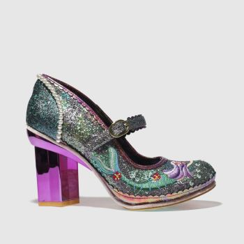 Irregular Choice Multi Mer Magic Womens Low Heels
