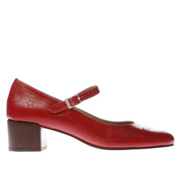 Red Or Dead Red Rod Earthquake Womens Low Heels