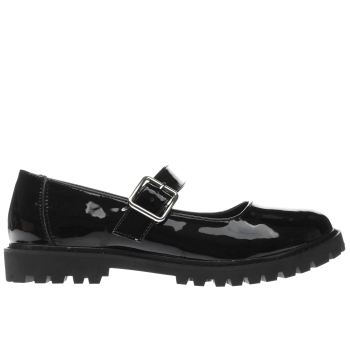 Schuh Black Multiply Womens Flats