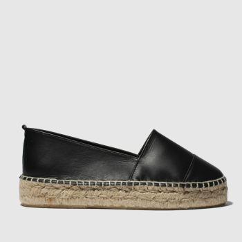 Schuh Black Promenade Womens Flats