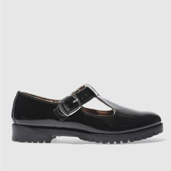 schuh Black Making Meadows Womens Flats