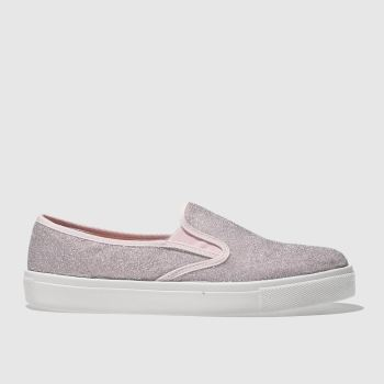 SCHUH PALE PINK AWESOME FLAT SHOES