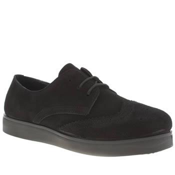 Womens Black Schuh Chucky Flats Black Shoes For Kids