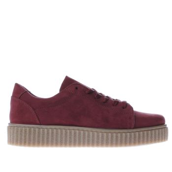 Schuh Burgundy Fun And Games Womens Trainers