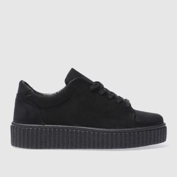 Schuh Black Fun And Games Womens Trainers