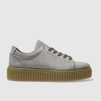 Schuh Grey Fun And Games Womens Trainers