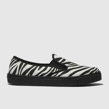 Schuh Black & White Awesome Womens Flats